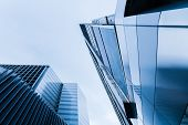 Tall Buildings Of Concrete And Glass