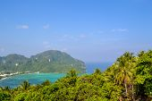 stock photo of koh phi-phi  - Koh Phi Phi island in southern Thailand - JPG