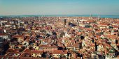 Постер, плакат: Roofs Of Venice From Campanile Of Florence Cathedral