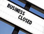 Retail Business Failure Closed