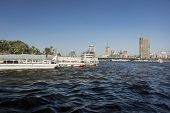 Water Taxis On The River Nile