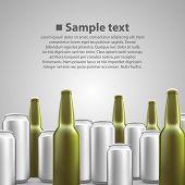 Beer flyer background