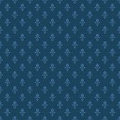 picture of fleur de lis  - fleur de lis texture in dark blue color - JPG