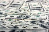 the many dollars. money background