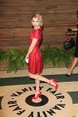 WEST HOLLYWOOD - MAR 2:: Emma Roberts at the 2014 Vanity Fair Oscar Party on March 2, 2014 in West Hollywood, California