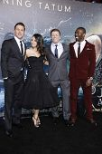 LOS ANGELES - FEB 2: Channing Tatum, Mila Kunis, Sean Bean, David Ayala at the 'Jupiter Ascending' Los Angeles Premiere at TCL Chinese Theater on February 2, 2015 in Hollywood, Los Angeles, California