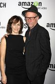 LOS ANGELES - FEB 3:  Xander Berkeley, Sarah Clarke at the