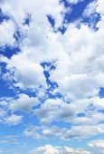 Cloudscape, may be used as background