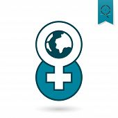 Womans Day Icon