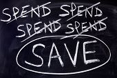 Spend And Save Message