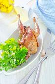 fried quail