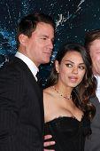 LOS ANGELES - FEB 2:  Channing Tatum, Mila Kunis at the