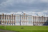 image of tsarskoe  - Catherine Palace in Tsarskoe Selo suburb of St - JPG