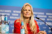 BERLIN- FEBRUARY, 05: Martha De Laurentiis. International Jury of Berlinale. Press Conference at Hyatt Hotel, February, 05, 2015 in Berlin, Germany