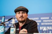 BERLIN- FEBRUARY, 05: Darren Aronofsky, Jury President. Press Conference at Hyatt Hotel, February, 05, 2015 in Berlin, Germany