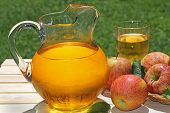 Pitcher Of Apple Juice