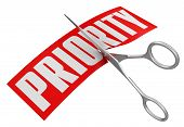 Scissors and Priority (clipping path included)