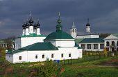 Suzdal, Church Of The Entry Into Jerusalem And Pyatnitskaya Church