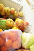 Fridge With Fruits