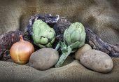 vegetables of the Mediterranean diet