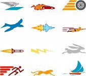 Speed Icon Set Series