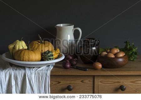 Still Life With Motionless And