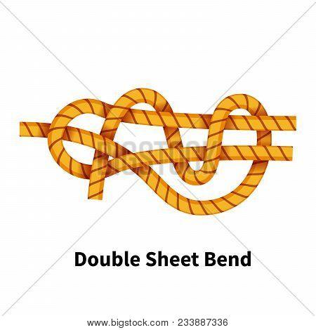 Double Sheet Bend Sea Knot