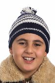 Boy In Winter Hat