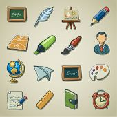 Freehands icons - school
