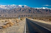 Paisaje en el norte de Argentina