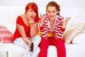 Girlfriends Upset By Tv Program