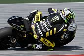 SEPANG, MALAYSIA - FEBRUARY 2: MotoGP rider Cal Crutchlow of the Monster Yamaha Tech 3 Team practice