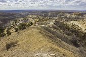 A Landscape Of The Blm Angel Peak Scenic Area In Northwestern New Mexico. This Blm Area Showcases Co poster