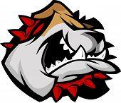 Mascota Bulldog con Collar