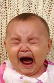 Cute Baby Girl Crying