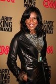 BEVERLY HILLS - DEC 16: Natalie Cole at the Larry King Live final show wrap party held at Spago in B