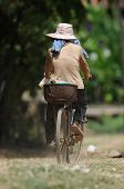 Bicycle Ride In Cambodia