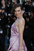 CANNES - MAY 23: Milla Jovovich at the premiere screening of 'On the Road' presented in competition