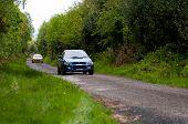 D. Creedon Driving Subaru Impreza