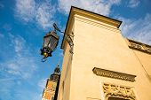 Krakow, Poland: Town Hall Tower At Main Market Square In The Old Town. poster