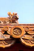 Ceramic Roof Tiles, Forbidden City, Beijing