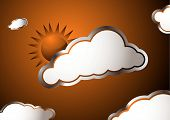 Weather Sun poster