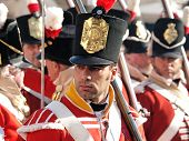 historic british soldier