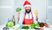Christmas Diet. Healthy Christmas Holiday Recipes. How Make Your Christmas Dinner Healthier. Man Bea poster