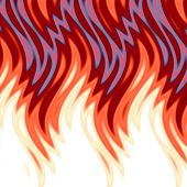 Hot Flames Background