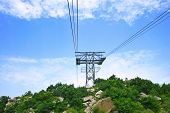 pic of ropeway  - The longest ropeway Tatev of the world in Armenia - JPG