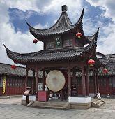 Drum Pavilion in a Confucian Temple