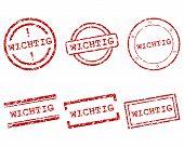 Wichtig Stamps