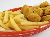Chicken Nuggets Basket