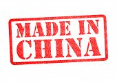 Made in China Stempel